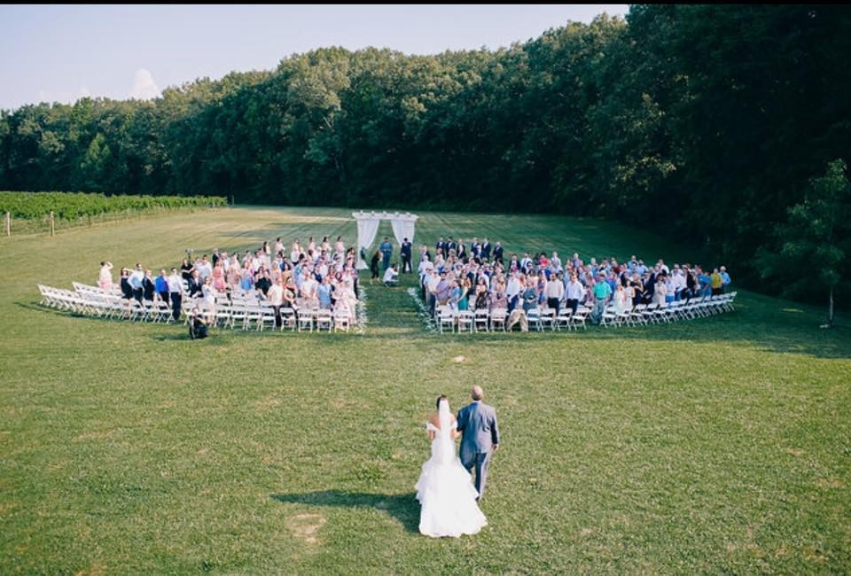 Large Outside Ceremony