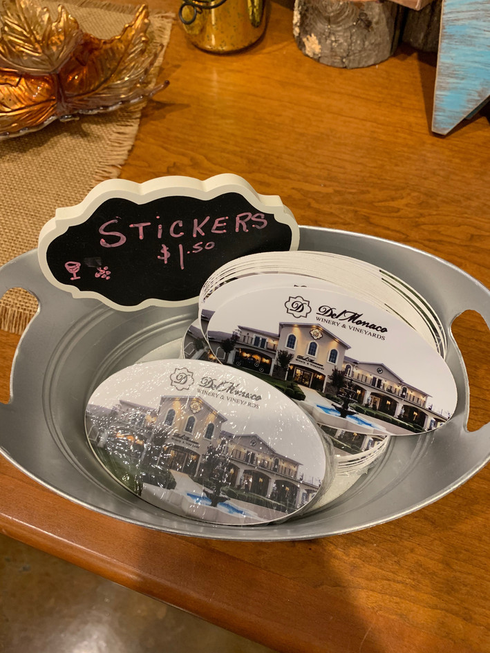 Winery Stickers