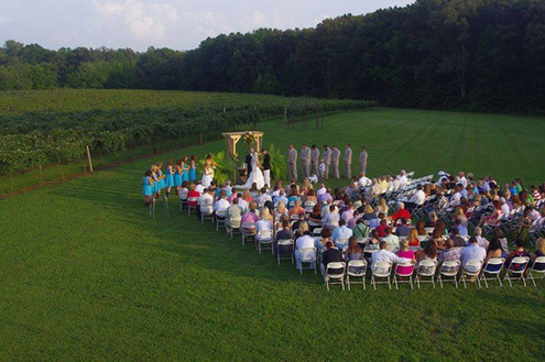 Lawn Ceremony Set up