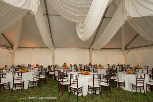 Fall Tent Setup