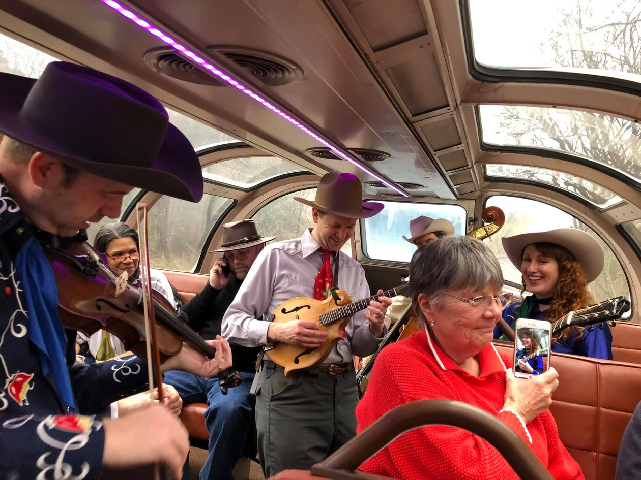 Live music on the Train