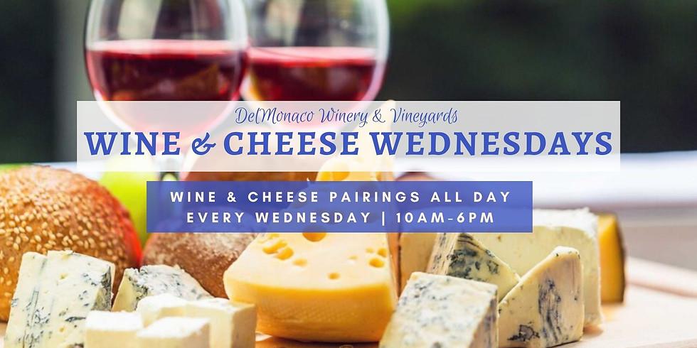 Wine Wednesday Wine and Cheese Pairings