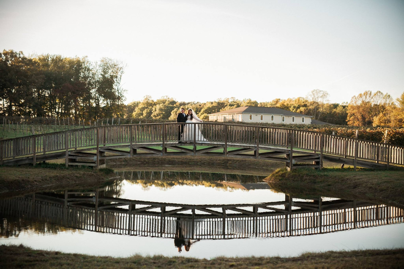 October Vineyard Wedding