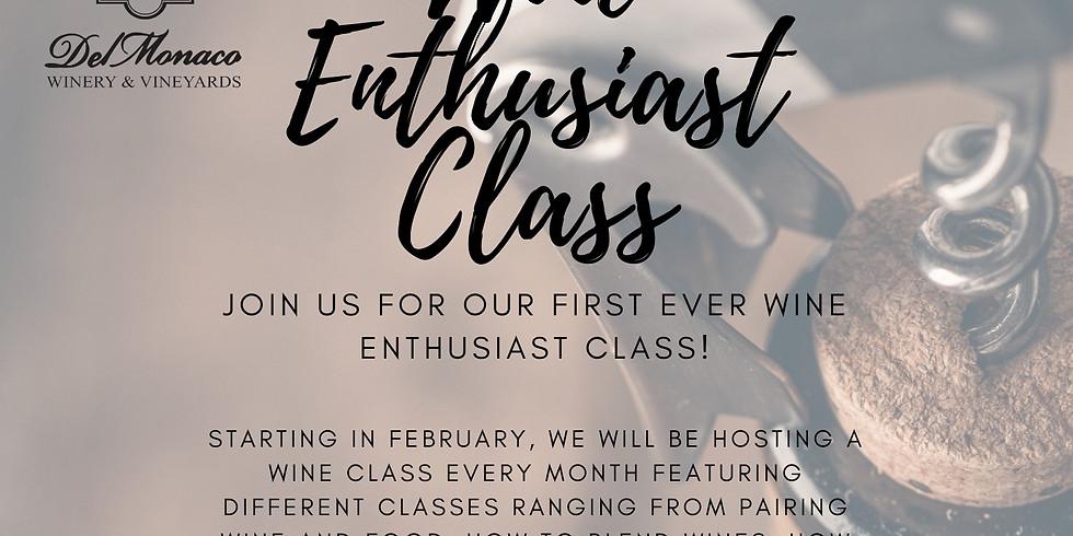 Wine Enthusiast Class