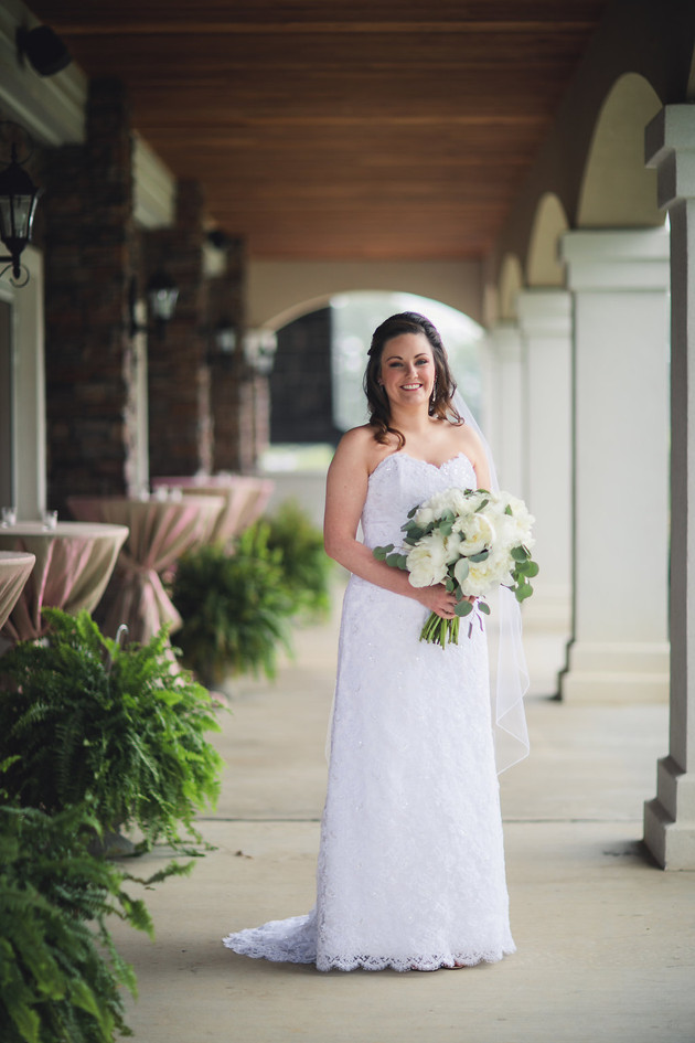 Patio Bridal Photo