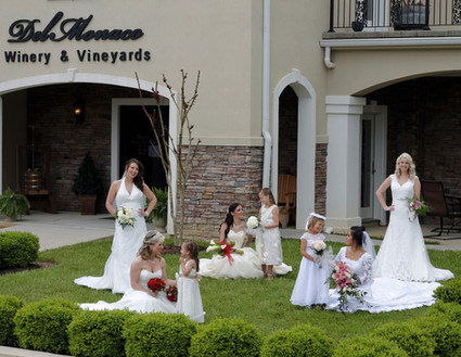 Weddin Party Out Front