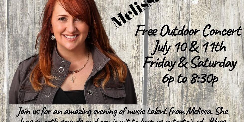 Melissa Ellis Free Concert in the Vineyards