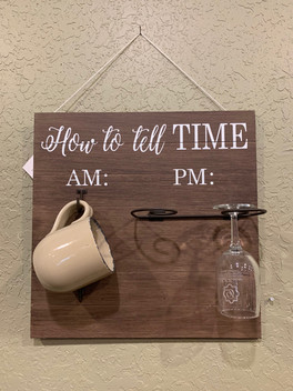 AM to PM sign