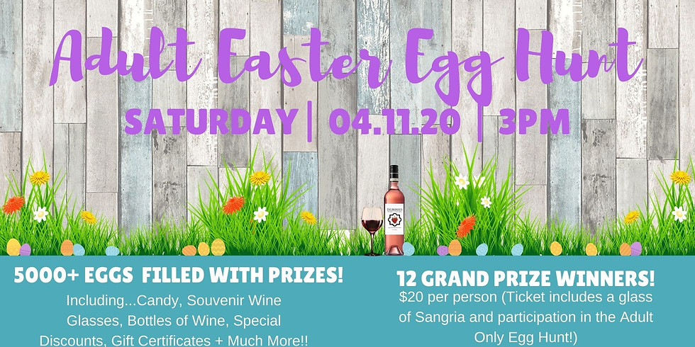Adult Easter Egg Hunt-POSTPONED