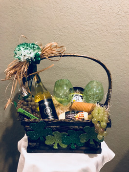 St. Patrick's Day Themed Basket