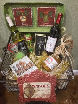 Christmas Themed Basket