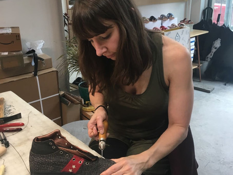 My Path and Startup Story: Juno Jones Safety Footwear by Emily Soloby