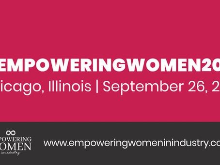 Empowering Women in Industry Hosting Awards Gala after Conference