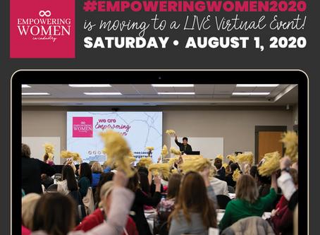 Empowering Women 2020 Goes Virtual