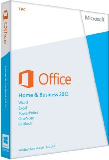 Home and Business 2013 Key Card 5PC/5User 32bit/64bit full version 5 PC install
