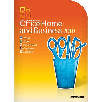 Home and  Business 2010 - 5PC/5User/32bit/64bit full version 5 PC install