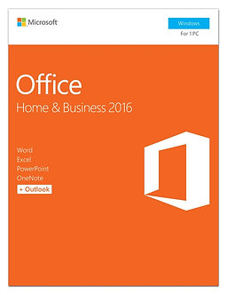 Home and Business 2016 32bit/64bit full version 5 PC install