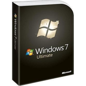 Windows 7 Ultimate [Old Version],32bit/64bit full version 5 PC install