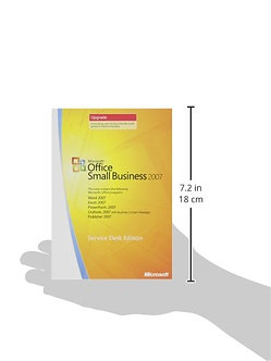 Office Small Business 2007 UPGRADE - Service Edition/32/64bit full version 5PCs