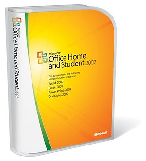 Home and Student 2007 [Old Version] 32bit/64bit full version 5 PC install