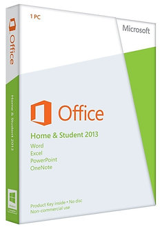 Home and Student 2013,32bit/64bit full version 5 PC install