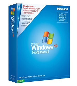 Windows XP Professional Full Version with SP2,DVD DISC 3PC install