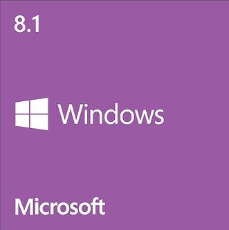 Windows 8.1 System Builder OEM DVD 32bit/64-Bit,32bit/64bit full version 5 PCs