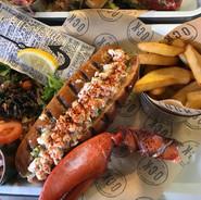 Lobster & Crayfish Po'Boy