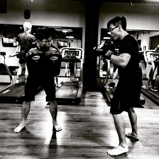 Bài tập Kick-boxing