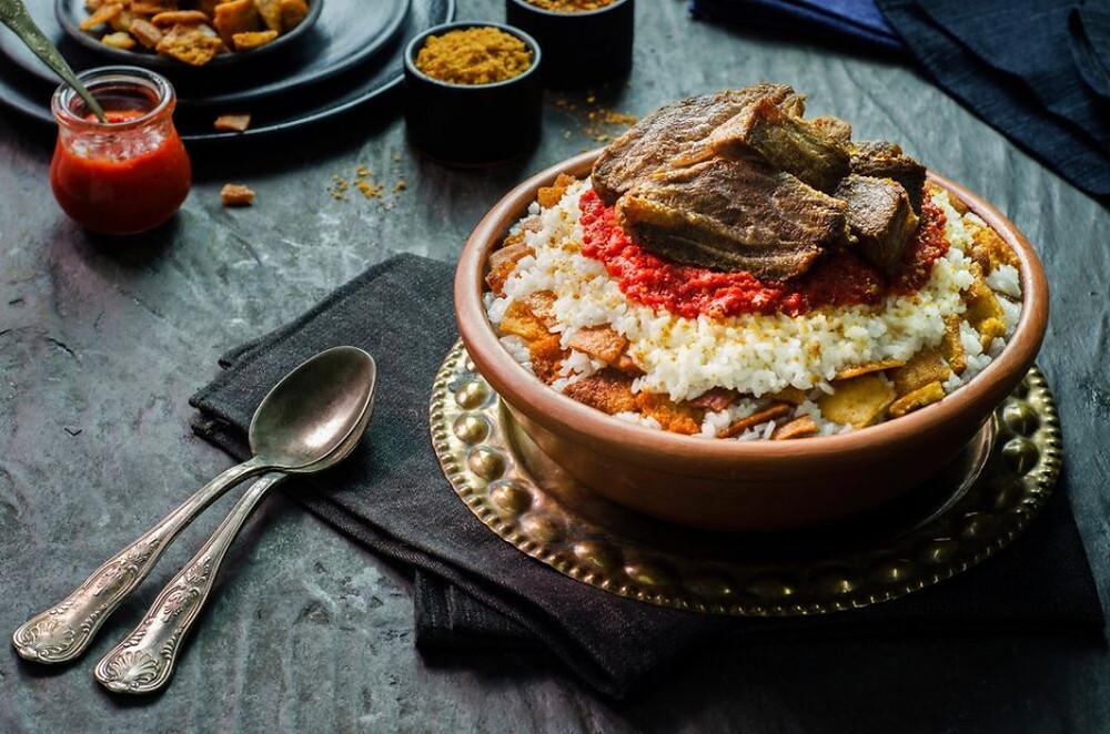 Fattah Egyptian dish