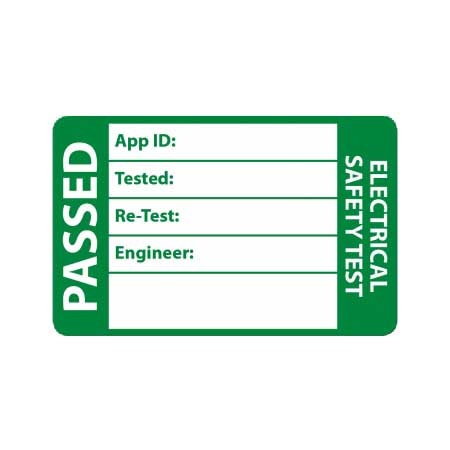 Passed Pat Test labels [Pack of 500] | AMECaL TL-107