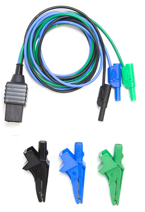 Test Lead, Croc Clips (TL-116A-C)