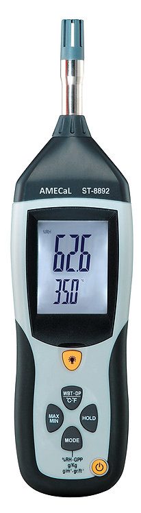 Professional Thermometer / Humidity Meter | AMECaL ST-8892