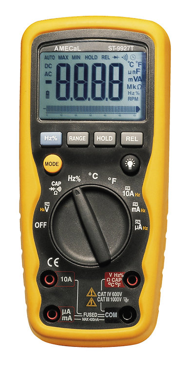 Professional Digital Multimeter | AMECaL ST-9927T