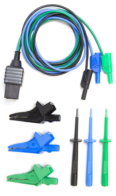 Test Lead, Croc Clips, Probes (TL-116A-CP)