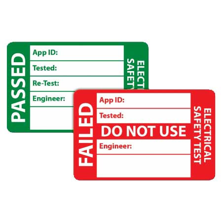 Pack PAT Test Labels [Pack of 500] | AMECaL TL-106