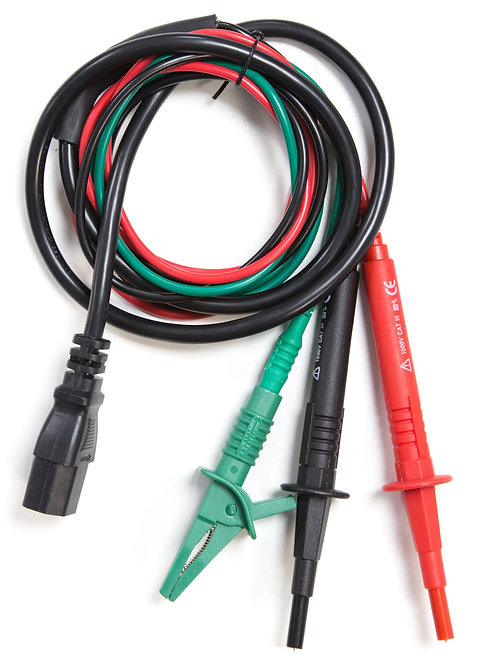 Fused 3-Wire Distribution Test Lead for electrical testers | AMECaL TL-102