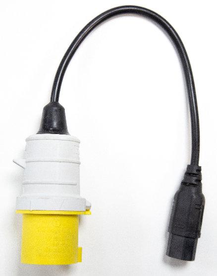 IEC320 Socket / 110V 16A 2P+E Plug Adaptor   AMECaL TL-132