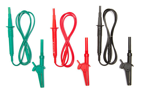 3-Wire Fused Test Leads Set For Fluke and Megger multifunction testers | TL-101