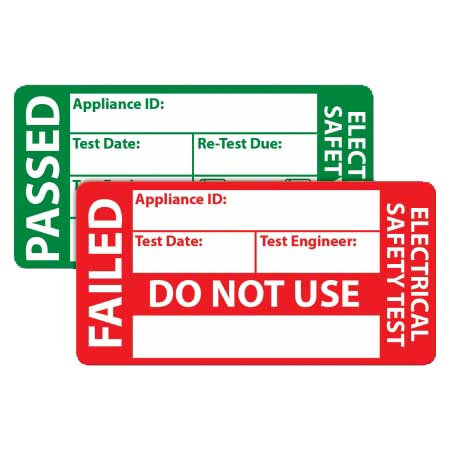 Pack PAT Test Labels [Pack of 500] | AMECaL TL-108