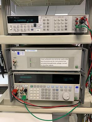 Meter Calibrator Calibration.JPG