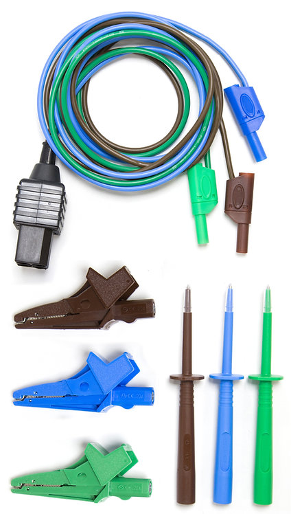 Test Lead, Croc Clips, Probes (TL-116B-CP)