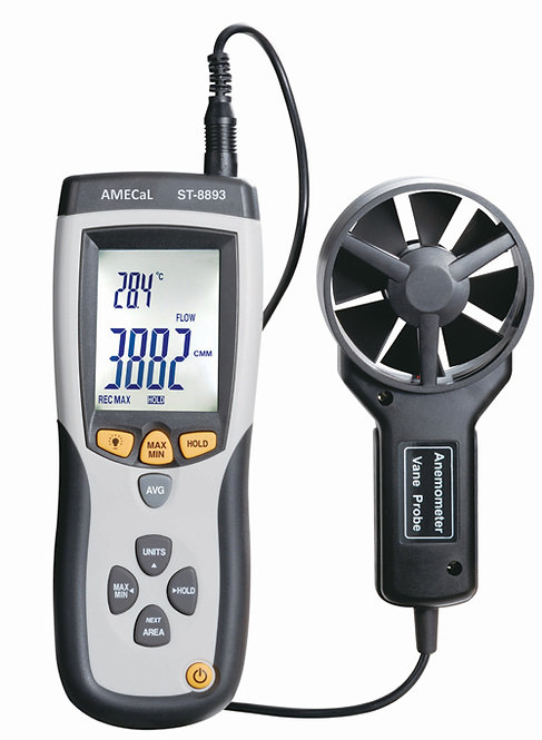 CMM/CFM Thermo Anemometer | AMECaL ST-8893