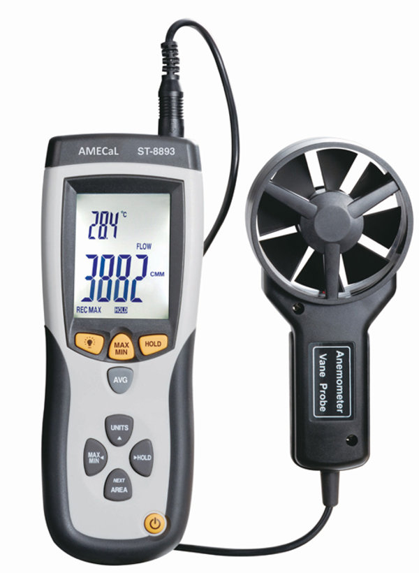 CMM/CFM Thermo Anemometer | AMECaL ST-8893 | amecal