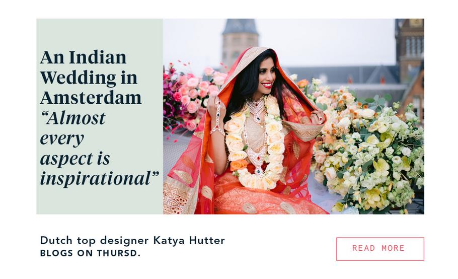 Katya Hutter Floral Design Indian Wedding