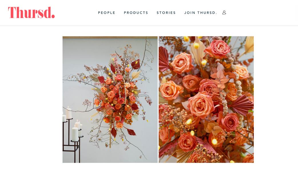 Thursd Katya Hutter Floral Design