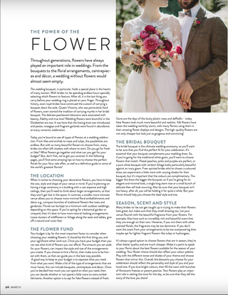 Weddings and Honeymoons feature