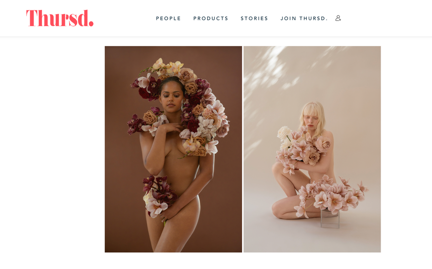 Katya Hutter Floral Design flowers for Justice and Equality