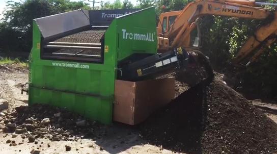Soil Screening Machine
