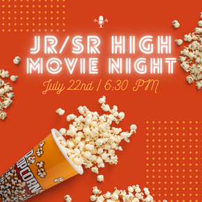 Jr/Sr High Movie Night